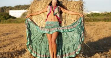 Boho Style High Low Skirt Outfit for Crazy Girls
