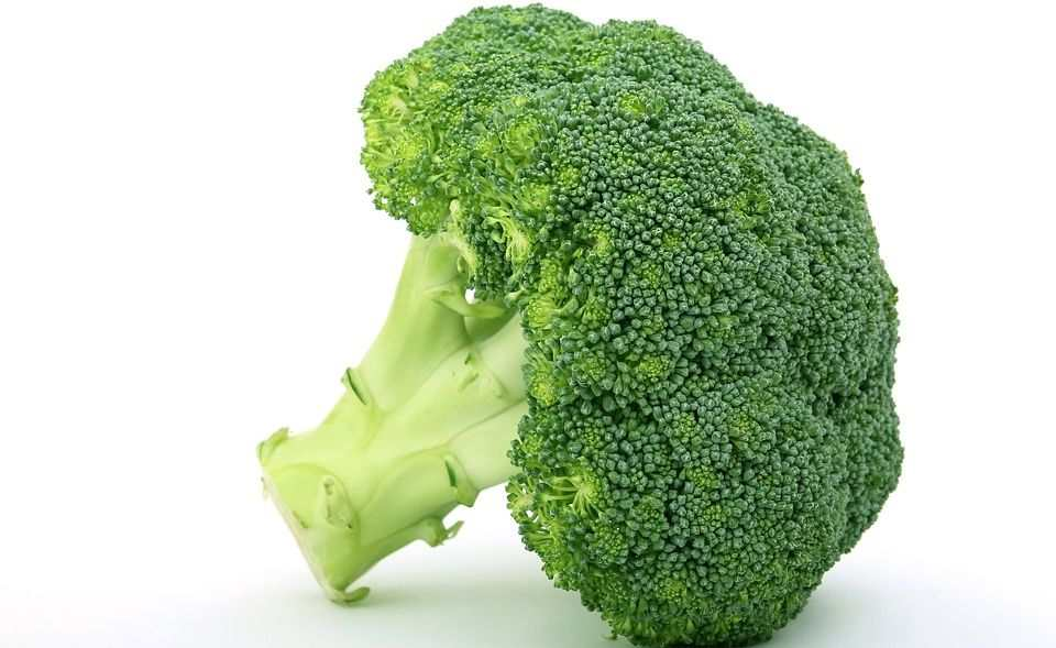 Try Broccoli to avoid Pimples