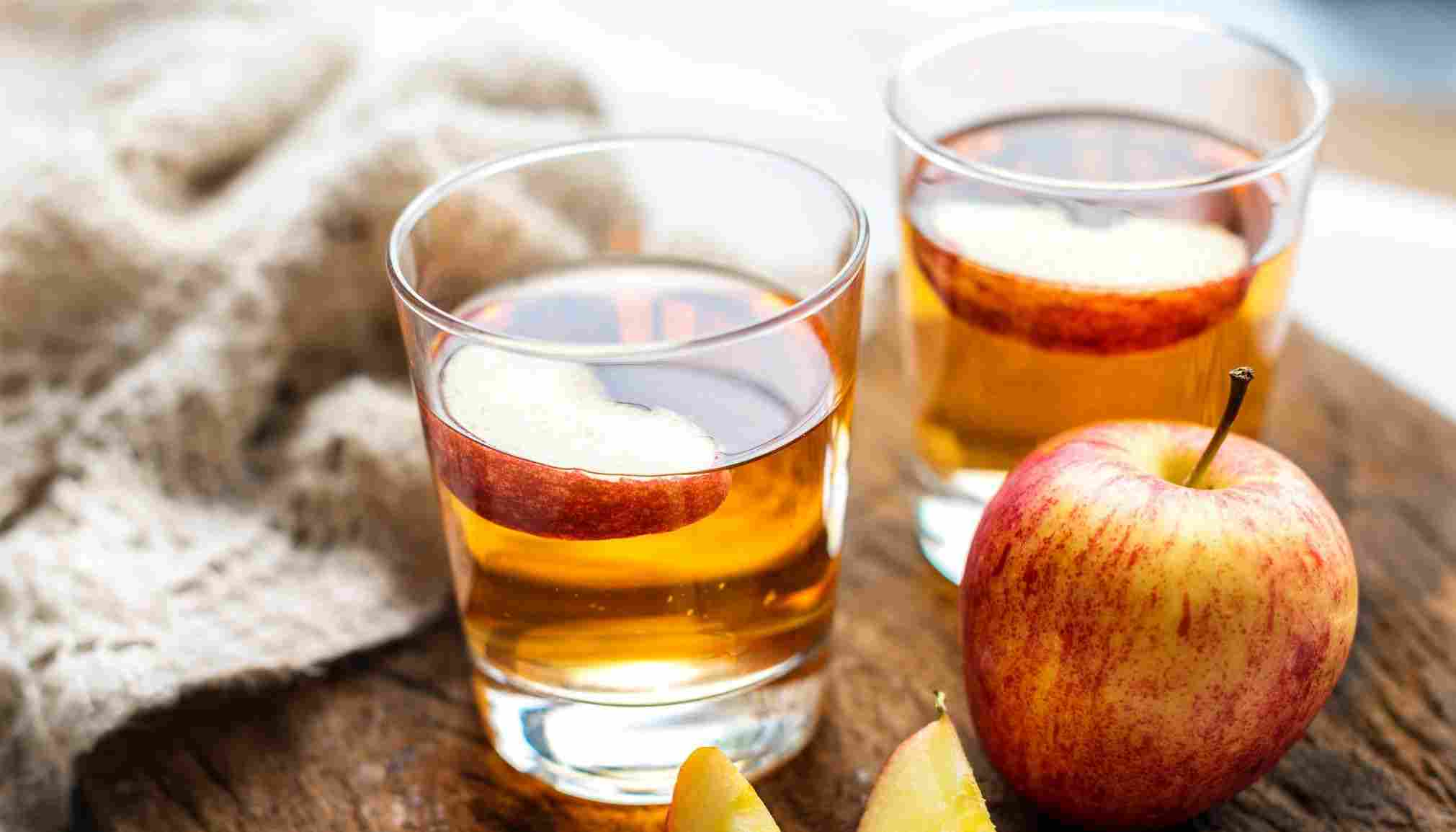 Apple cider vinegar for skin abrasion