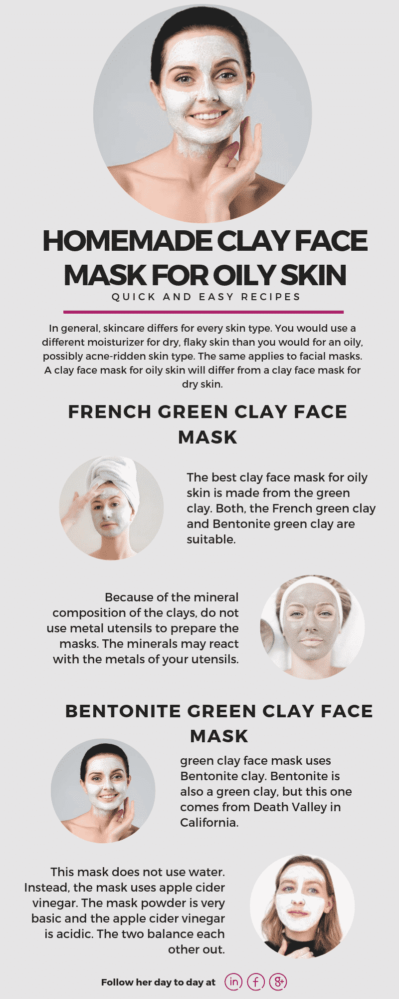 Homemade Clay Face Mask