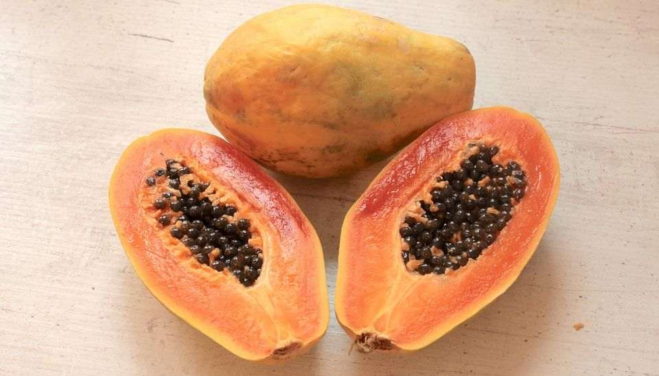 does papaya help with dark spots on face