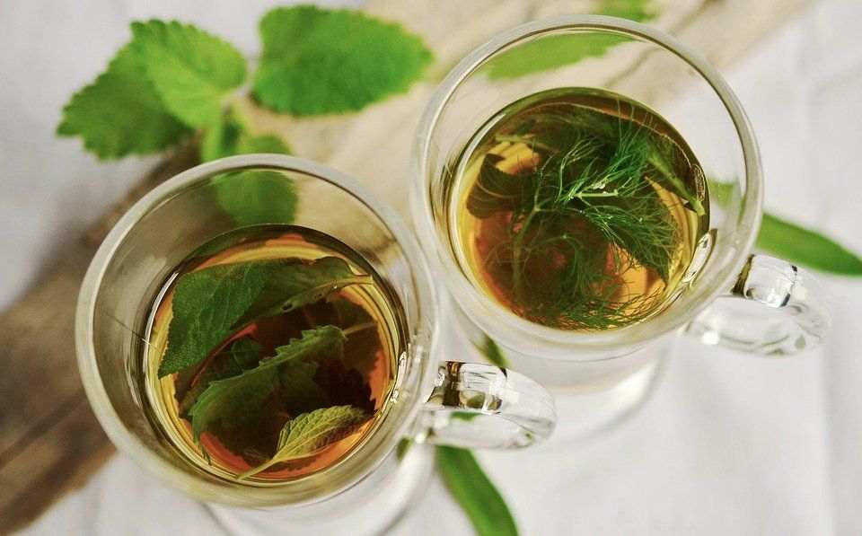 Herbal teas are also great option for skin-related issues