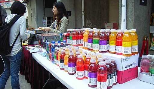 Is zero vitamin water good for you