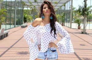 What to wear look best inverted triangle body shape